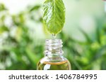 Essential Oil Dripping From...