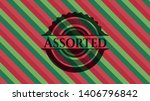 assorted christmas colors style ... | Shutterstock .eps vector #1406796842