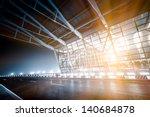 night scene of shanghai's...   Shutterstock . vector #140684878