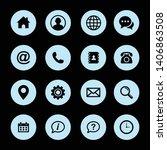 web icon symbol. website set...