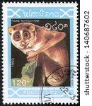 laos   circa 1993  a stamp... | Shutterstock . vector #140687602