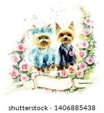 Wedding Yorkshire Terrier....