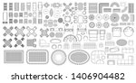 set of linear icons. outdoor...   Shutterstock .eps vector #1406904482