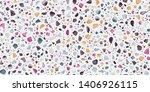 terrazzo seamless repeat vector ...   Shutterstock .eps vector #1406926115
