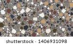 terrazzo seamless repeat vector ...   Shutterstock .eps vector #1406931098
