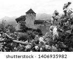 gutenberg castle in vaduz ...   Shutterstock . vector #1406935982