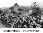 gutenberg castle in vaduz ...   Shutterstock . vector #1406935985