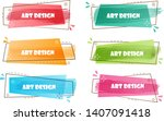 abstract banner for company... | Shutterstock .eps vector #1407091418