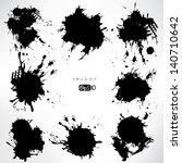 splash on abstract background | Shutterstock .eps vector #140710642