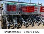 Close Up  Shopping Carts...