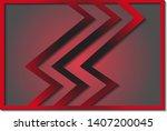 vector of simple background... | Shutterstock .eps vector #1407200045