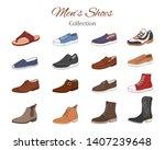 Men\'s Shoes Collection. Variou...