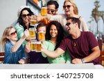 young people in their twenties... | Shutterstock . vector #140725708