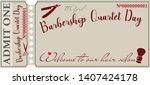Vintage Ticket Invitation For...