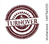 red turnover distressed rubber... | Shutterstock .eps vector #1407563252