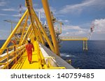 operator walking operation of... | Shutterstock . vector #140759485