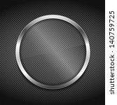 transparent glass board on...   Shutterstock .eps vector #140759725