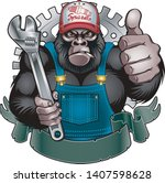 Gorilla Holding Wrench And...