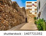 cityscape of adra in almeria ... | Shutterstock . vector #1407721352