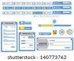 component of website | Shutterstock .eps vector #140773762