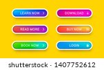 abstract web buttons with... | Shutterstock .eps vector #1407752612