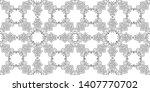 vector hand painted vintage...   Shutterstock .eps vector #1407770702