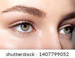 close up portrait of tender... | Shutterstock . vector #1407799052