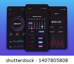 mobile app user interface...