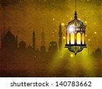hanging iilluminated intricate... | Shutterstock .eps vector #140783662