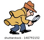 inspector | Shutterstock .eps vector #140792152