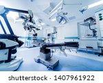 modern equipment in operating... | Shutterstock . vector #1407961922