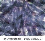 sun rays shining  forest... | Shutterstock . vector #1407980372