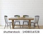 Modern Farmhouse Dining Room....