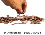 save money and account banking... | Shutterstock . vector #1408046495
