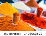 spices and dried food products... | Shutterstock . vector #1408063622