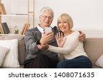 Happy Senior Couple Making...