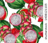 fruits. healthy food....   Shutterstock . vector #1408121105