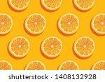 slices of fresh orange summer...   Shutterstock .eps vector #1408132928