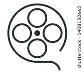 cinema film   minimal line web...