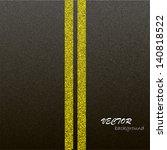 asphalt dark texture with...   Shutterstock .eps vector #140818522