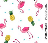 seamless repeat pattern with... | Shutterstock .eps vector #1408192382