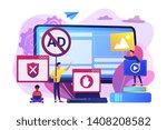 programmer developing anti... | Shutterstock .eps vector #1408208582