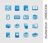 books | Shutterstock .eps vector #140821336