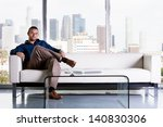 young handsome casual business...   Shutterstock . vector #140830306