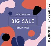big sale banner template for...
