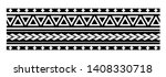 tribal pattern tattoo ... | Shutterstock .eps vector #1408330718