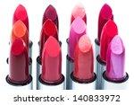 lipsticks against white... | Shutterstock . vector #140833972