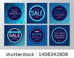 sale and new collection banners ... | Shutterstock .eps vector #1408342808