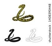 vector design of mammal and...   Shutterstock .eps vector #1408390448