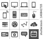 internet devices. network... | Shutterstock .eps vector #140842735